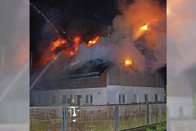 Großbrand in Buchholz