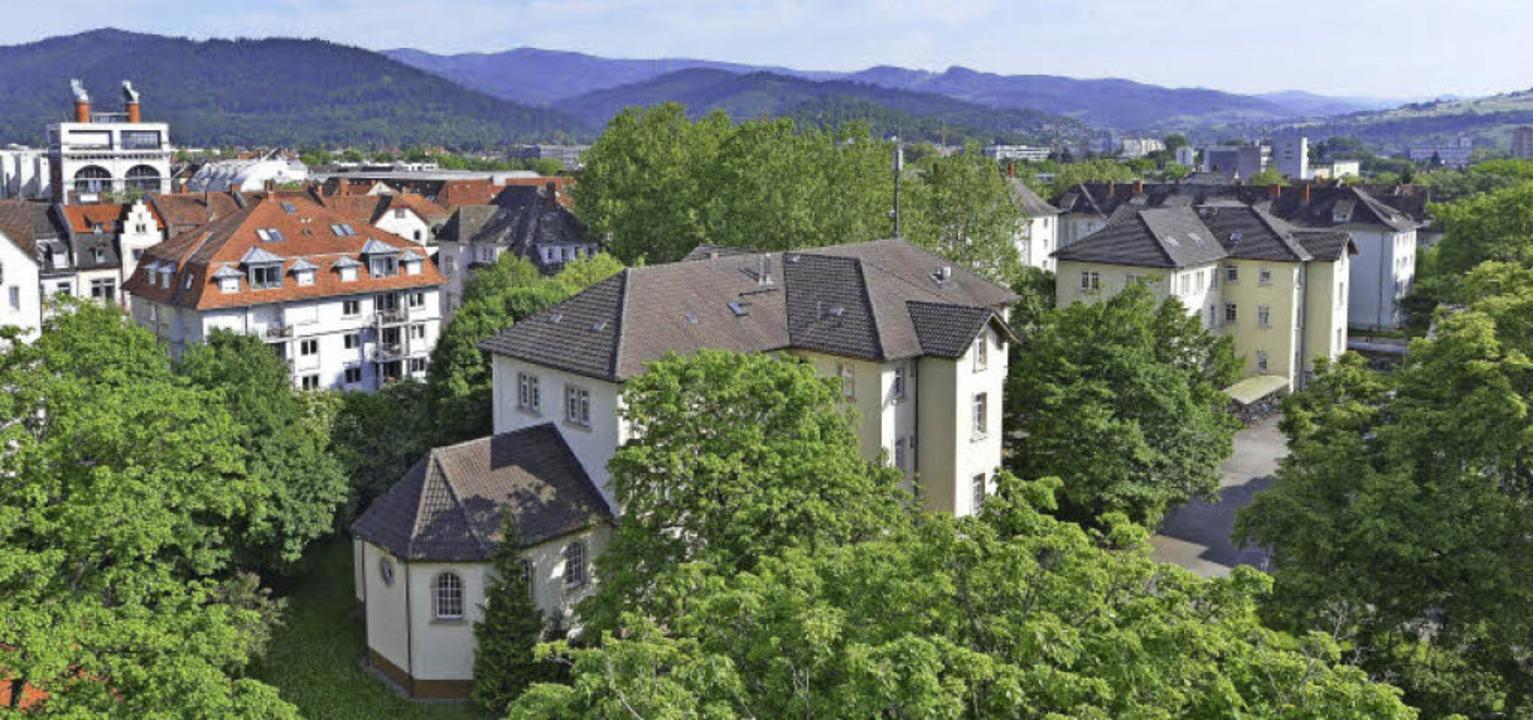 In den vorderen Gebäuden zwischen der ...ie Kreispflegeanstalt untergebracht.    | Foto: Michael Bamberger