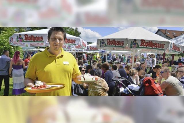 Spargel- und Erdbeerfest der Dunnerloch-Zotteli ein voller Erfolg