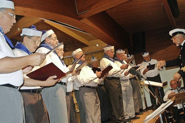 Ein Chor auf hoher See
