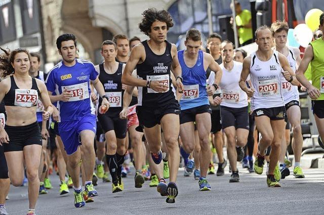 Lörracher Omar Tareq gewinnt Zehn-Kilometerlauf