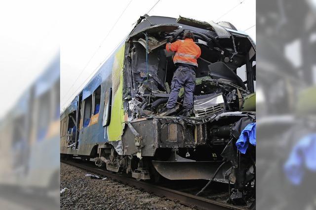 Zugunglück bei Münster mit zwei Toten