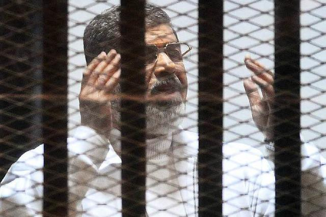 Empörung über Todesurteil gegen Ex-Präsident Mursi