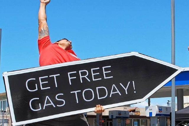 Sign Spinners: Werbetafelhalter mit dem gewissen Dreh