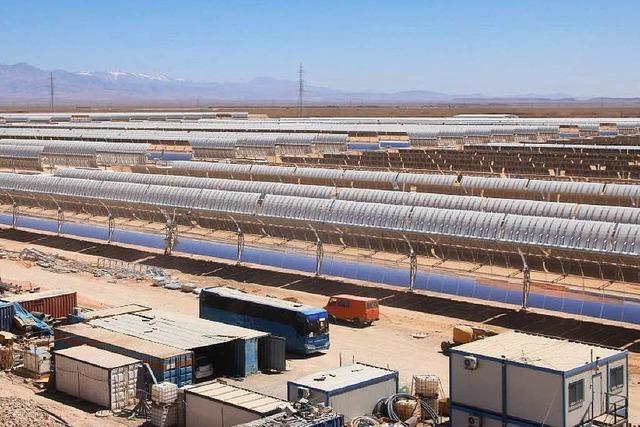 Marokko baut riesiges Solarkraftwerk in der Wüste
