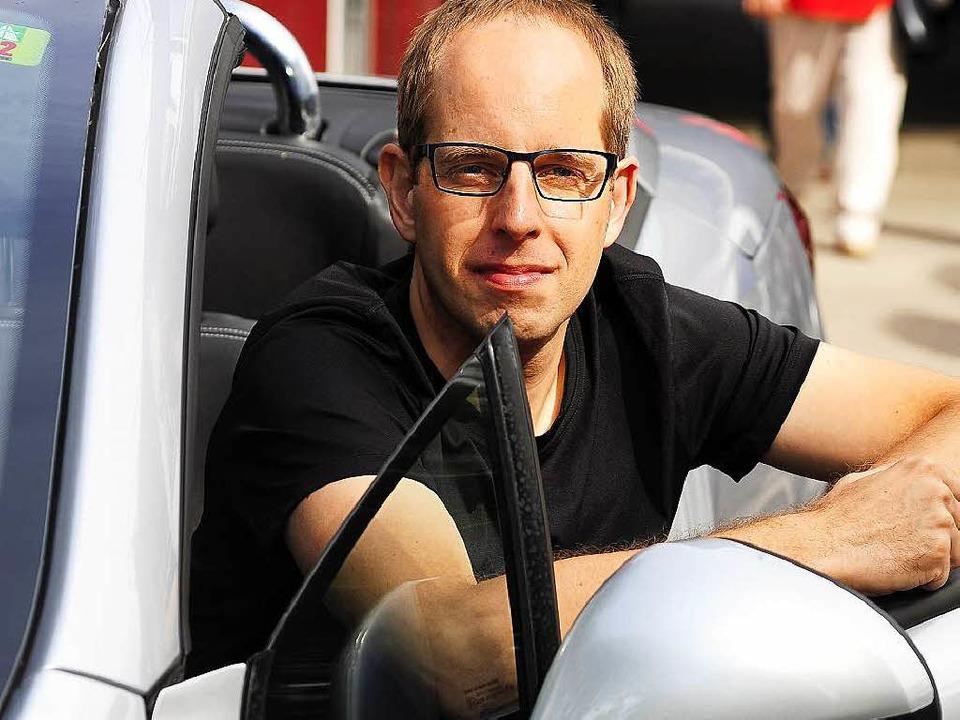 Michael Nowack, Chef des Freiburger Ca... vom Konzept der geteilten Mobilität.   | Foto: Thomas Kunz
