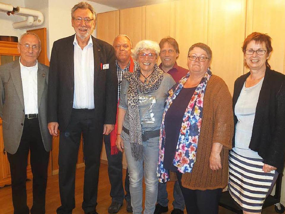 Der Kernvorstand der Arbeiterwohlfahrt...eu hinzu gekommen sind zwei Beisitzer.  | Foto: ZVG