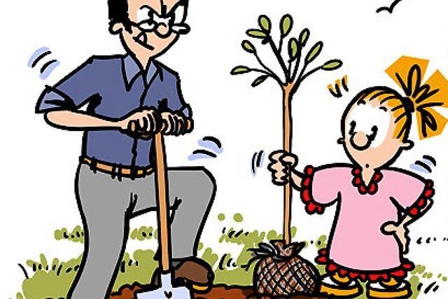 Lucy Backfisch: Gartenarbeit mit Folgen
