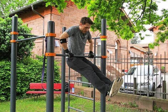 Erste Street Workout-Anlage in Lahr