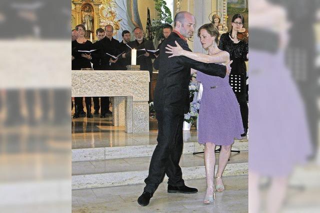 Tango Argentino in der Pfarrkirche