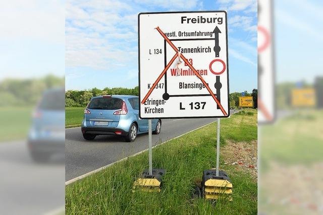 B3 bei Welmlingen nun mehrere Monate gesperrt