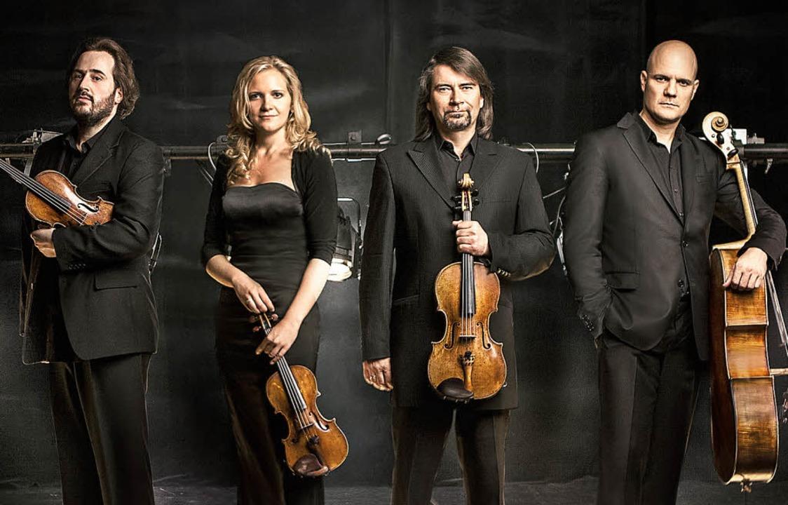 Das Artemis Quartett: Vineta Sareika, ...n Weigle und Eckart Runge (von links)   | Foto: ZVG