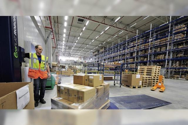Grieshaber Logistics wächst mit der Gesundheitsbranche