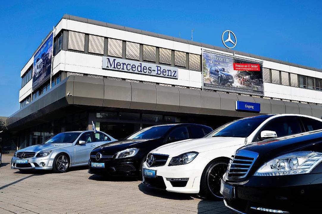 Die  Mercedes-Niederlassung in Freiburg.  | Foto: Thomas Kunz
