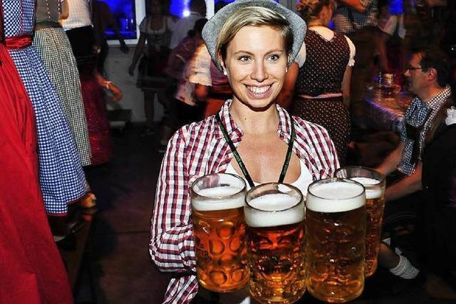 Ende September findet in Freiburg wieder ein Oktoberfest statt