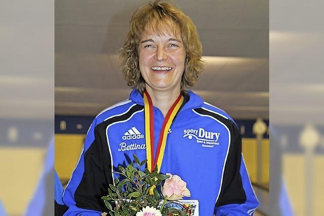 Bettina Helmle gewinnt Gold