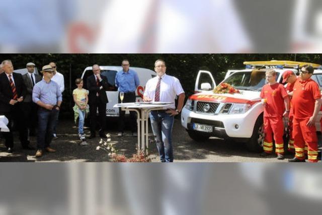 DLRG hat wieder ein Einsatzfahrzeug