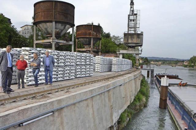 Aufwärtstrend: Der Rheinhafen floriert weiter