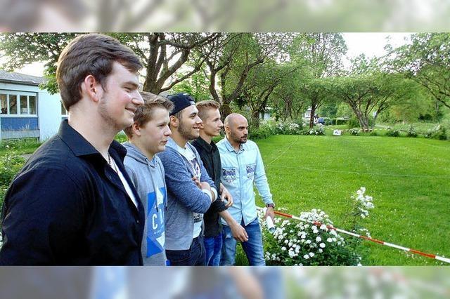 Bolzplatz als Jugendprojekt