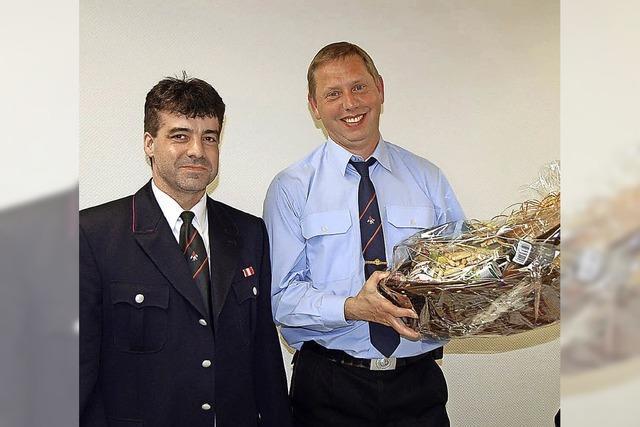 Führungswechsel bei der Feuerwehr
