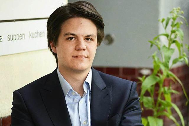 Marian Schreier: Der wohl jüngste Bürgermeister tritt sein Amt an