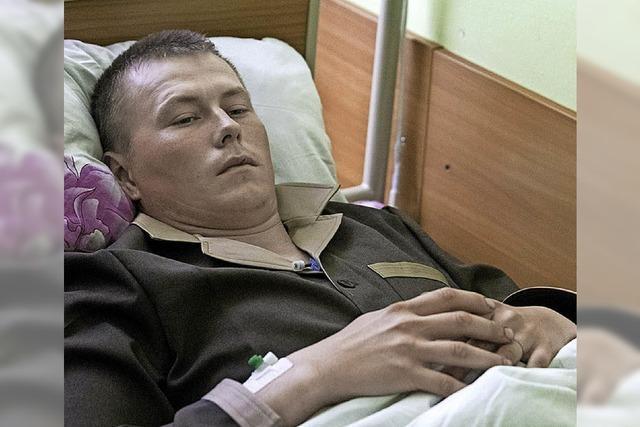Zwei russische Soldaten in der Ukraine festgenommen