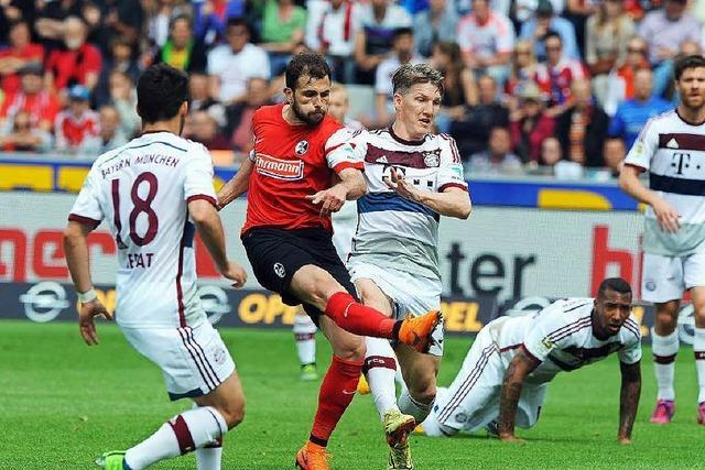 Admir Mehmedi glaubt an den Klassenerhalt des SC Freiburg