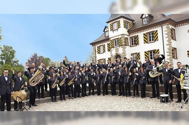 Jugendorchester und Hauptorchester des Musikverein in Schliengen
