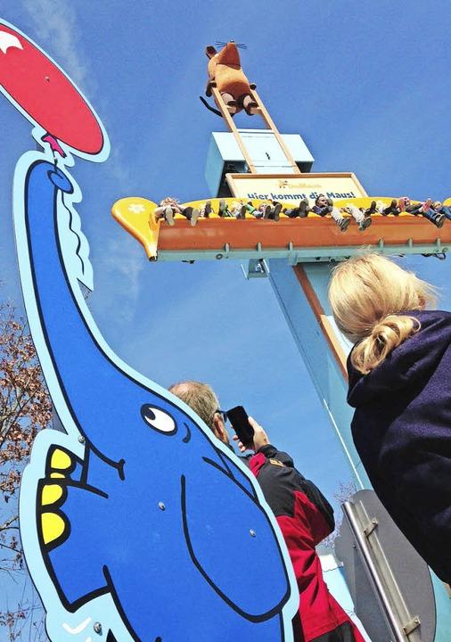 Kribbeln im Bauch: Freifallturm  | Foto: Ronja Vattes