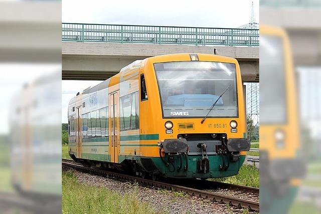 Die Pläne zum Ausbau der Kaiserstuhlbahn sind da