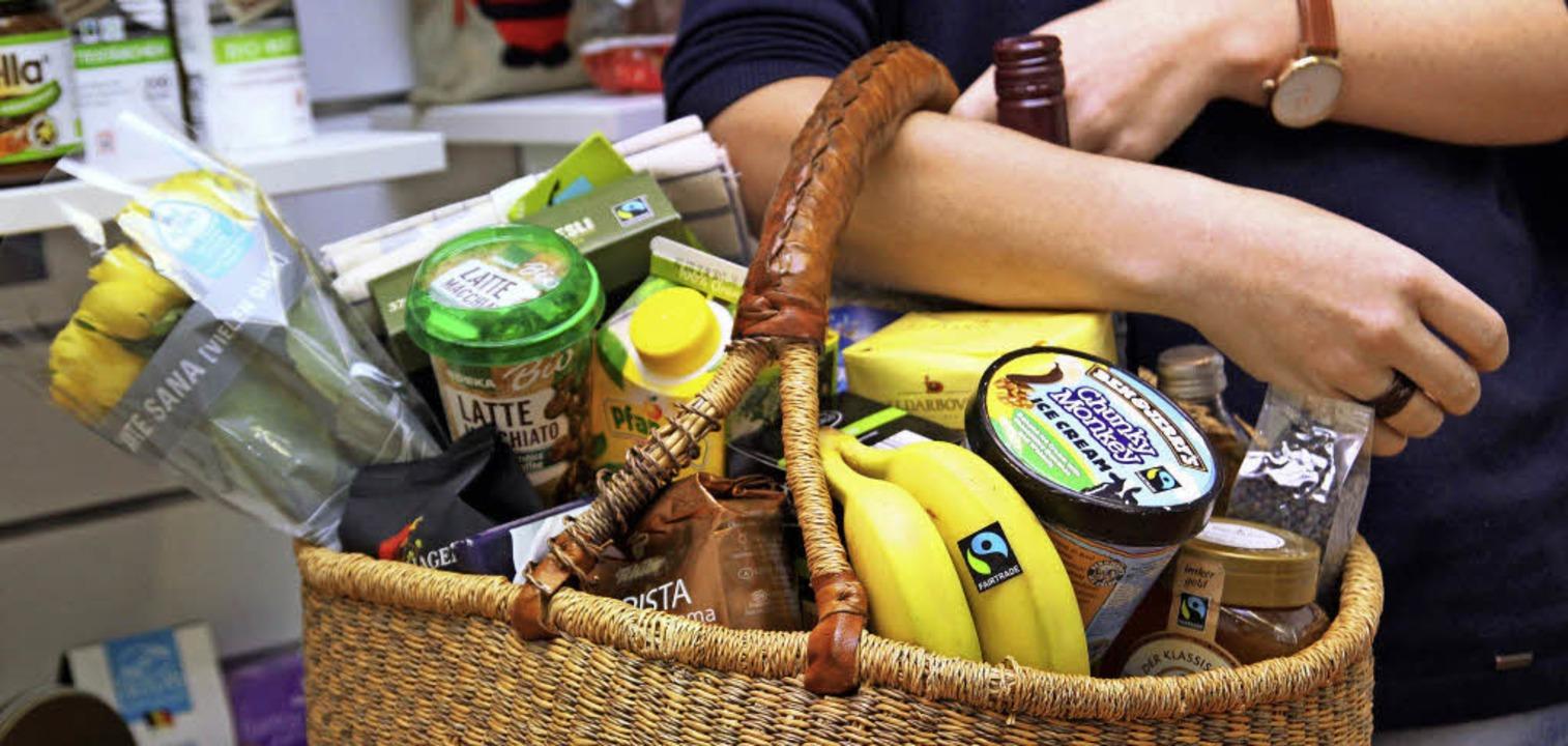 """Umweltschonend und ohne Ausbeutung pro...8222;Fairtrade-Town"""" zu werden .    Foto:   obs/TransFair e.V. / Miriam Esch"""