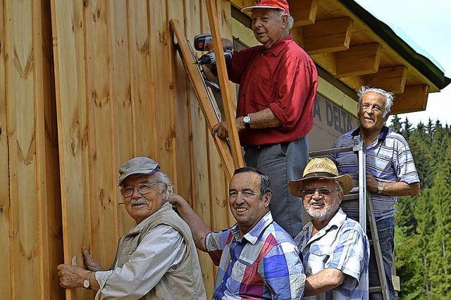 Rentnertruppe ist wieder im Einsatz