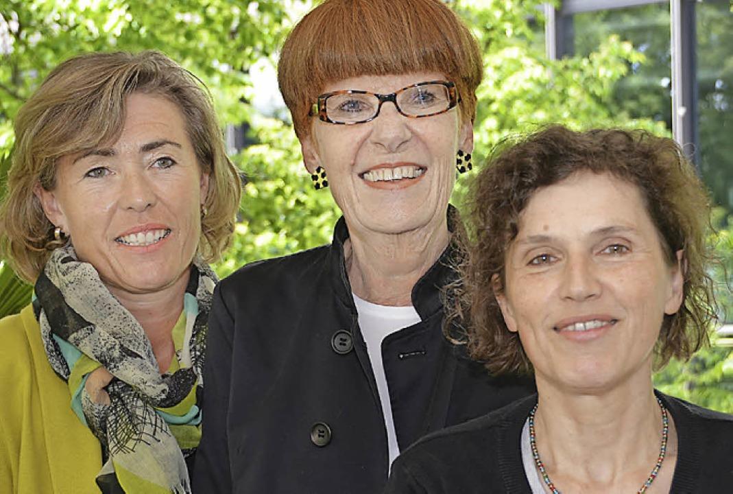 Schubert-Durand-Stiftung: (von links) ...itzende), Eva Petersik (Assistentin).   | Foto: Nikolaus Trenz