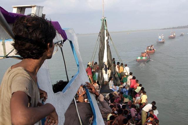Flüchtlinge dürfen an Land