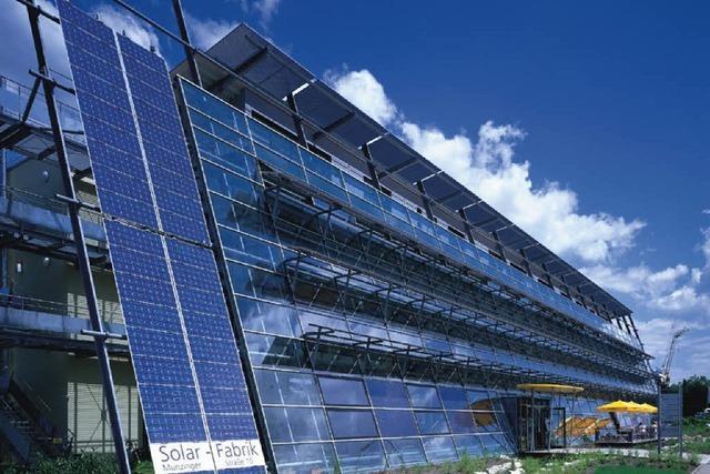 Solar-Fabrik kündigt in Freiburg 65 Mitarbeitern