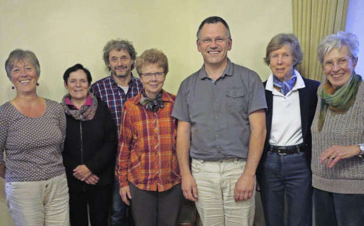 Der Vorstand des Vereins Hilfe für Flü...n Blankenhorn-Hartig und Renate Moser   | Foto: Philipp