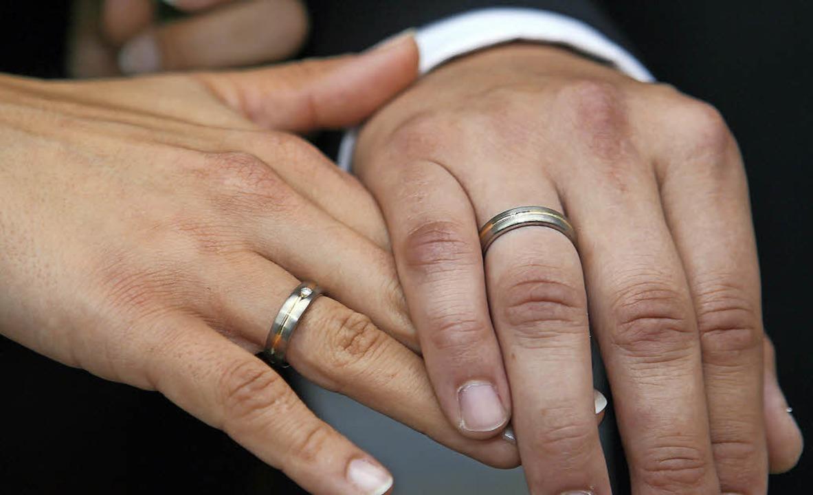 Vorbereitungen für die Ehe