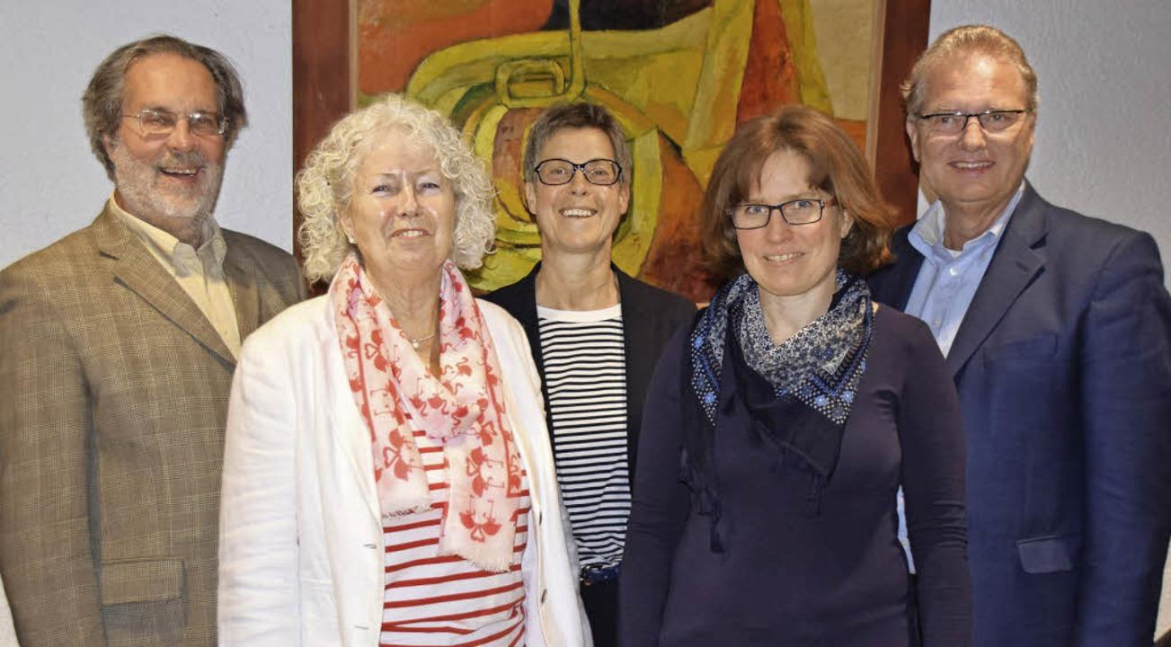 Der Vorstand der Musikschule Rheinfeld..., Sabine Born-Hofmann, Dieter Burger.   | Foto: Sarah Nöltner