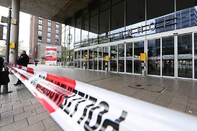 Bombendrohung gegen Hauptbahnhof Freiburg: 33-Jähriger verurteilt