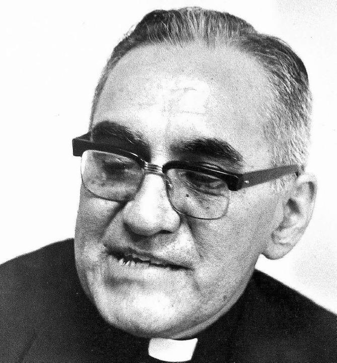Oscar Romero im Jahr 1979   | Foto: dpa