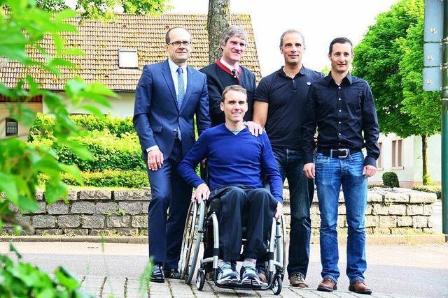 Unterstützerkreis sammelt für Kirchzartener Mountainbiker im Rollstuhl