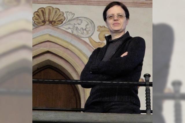 Christiane Lux im Fridolinsmünster in Bad Säckingen