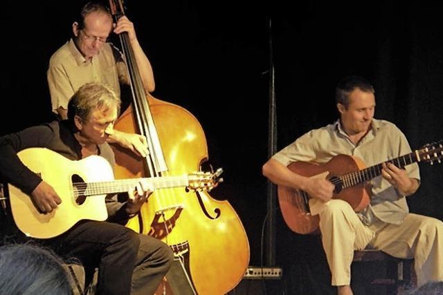 Manfred-Fuchs-Trio in der Purpur-Bar
