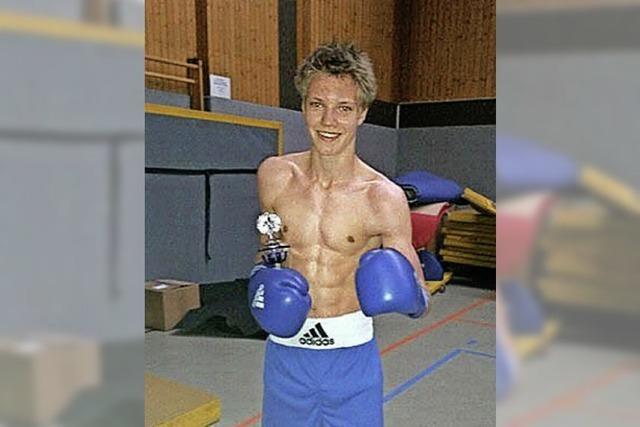 Pokal für Daniel Ries