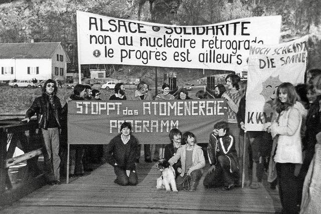 Gegen Kernkraft und Kerntangente