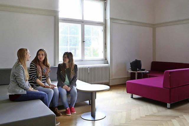 Räume zum Lernen, Reden und Entspannen