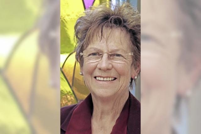 Helga Stützle leitet