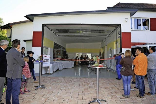 DRK hat nun eine eigene Halle