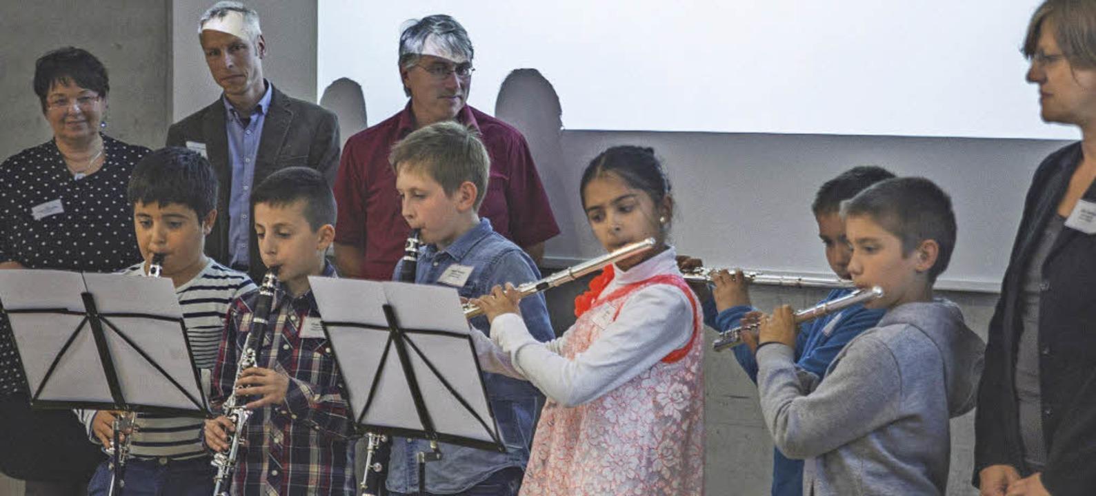 Für eine n spritzigen Satz von Vivaldi...on langanhaltendem kräftigem Applaus.     Foto: zVg