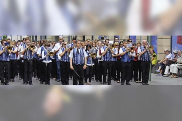 Erfolgreiche Reise zum Landesmusikfest